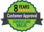 Customer Approval Badge